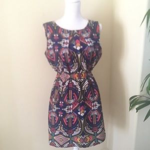 Aztec Design Colorful Dress